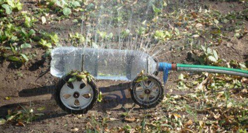 DIY Bottle Sprinkler